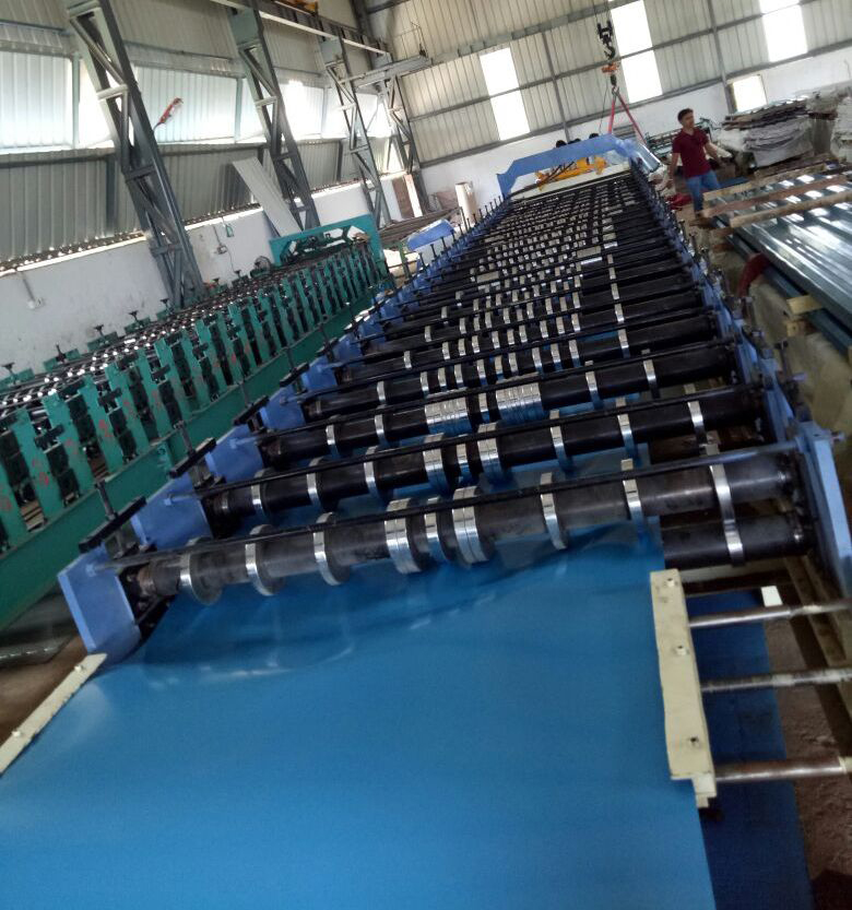 Trapezoidal Roof Panel Machine